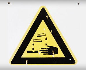 corrosive chemical - chemical burns